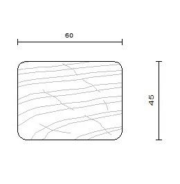 bois ossature douglas 45 x 60 mm