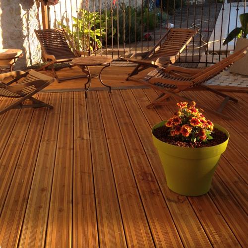 lame de terrasse saturee