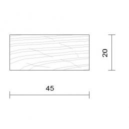 bardage douglas claire voie vertical 20 x 145