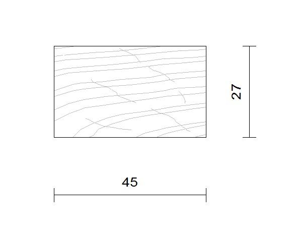 bardage douglas claire voie vertical 27 x 45
