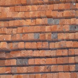 tasseaux bois brut rabotés 43 x 43
