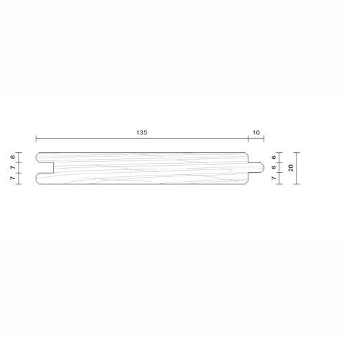 plancher douglas 20x135
