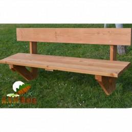 banc en bois douglas, banc en bois