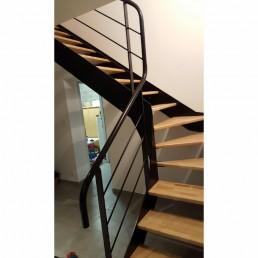 escalier sur mesure en bois douglas