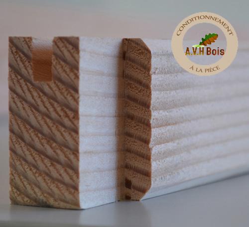 Lisse haute naturelle 45x60 mm ttc ml avh bois for Fenetre 45x60