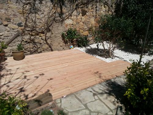 Lame de terrasse douglas 145 x 27 mm  AVH Bois ~ Lame De Terrasse Bois Douglas