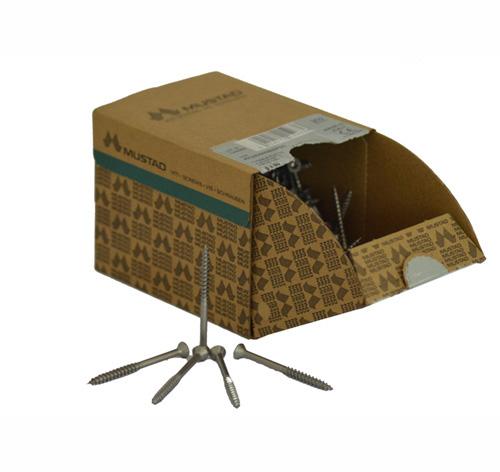 Vis Inox A2  boîte de 200 vis  Avh bois