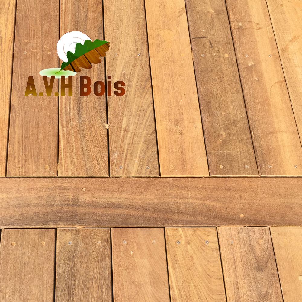 Lame de terrasse ipe terrasse bois exotique ipe 20 x 140 mm for Lame de bois exterieur