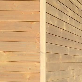 cornière d'angle douglas saturé gris vieux bois