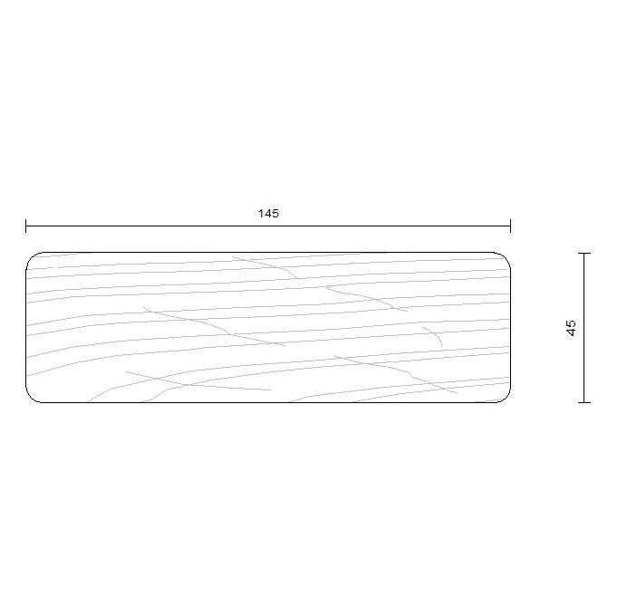 ossature bois douglas traitement autoclave 45 x 145 mm