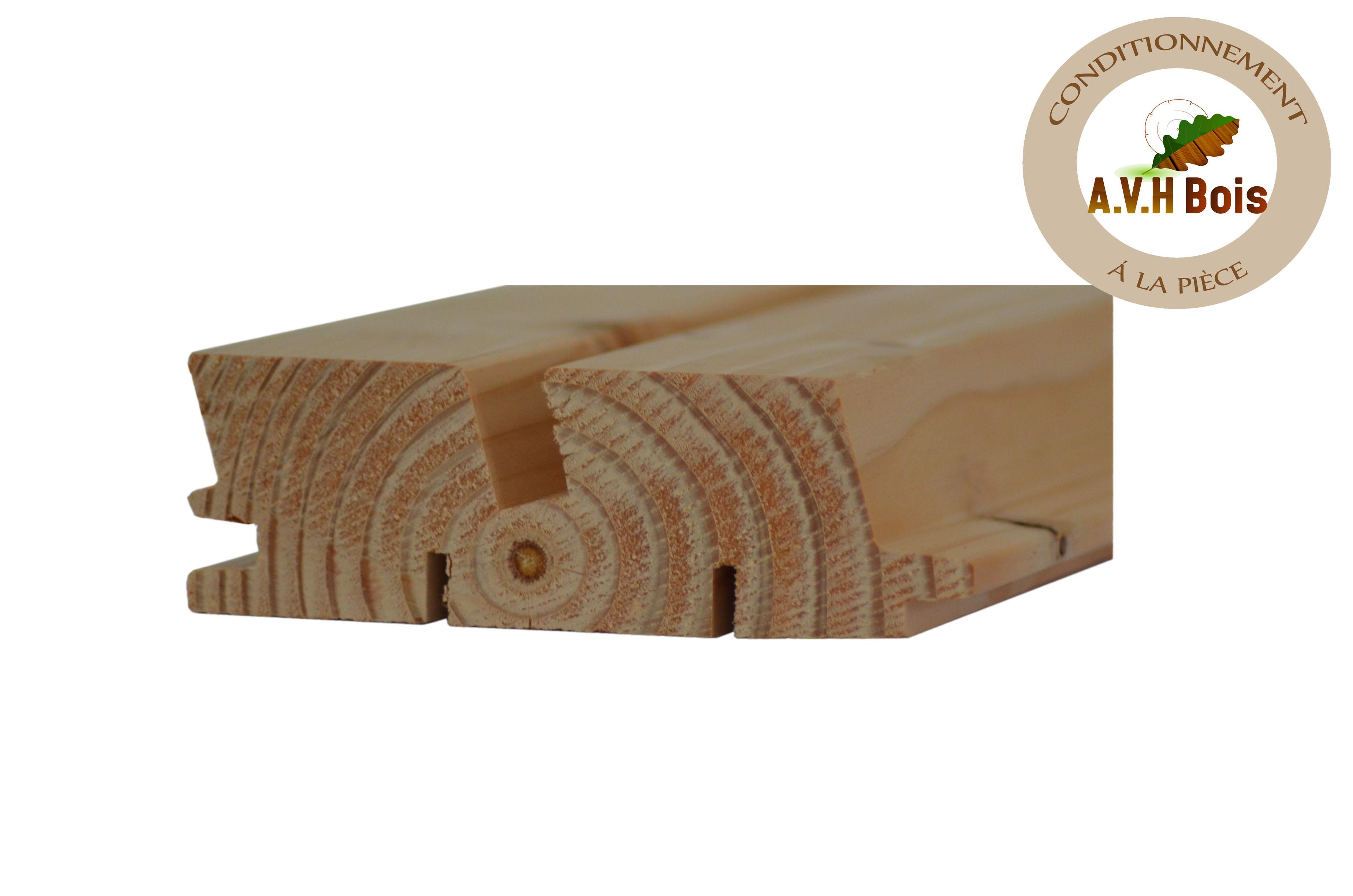 bardage faux claire voie horizontal mod le 130 2 choix 1 en naturel ttc m utile. Black Bedroom Furniture Sets. Home Design Ideas