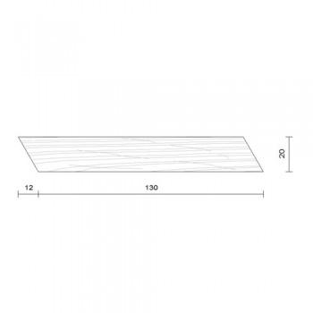 Bardage claire voie horizontal douglas 20 x 130