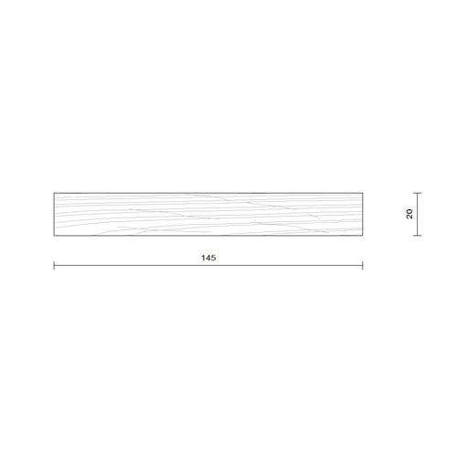 bardage claire voie vertical section 20 x 145 mm choix 1. Black Bedroom Furniture Sets. Home Design Ideas