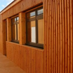 bardage bois pour façade