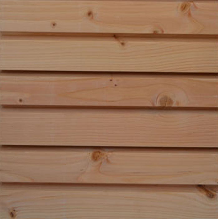 Super Bardage en bois essence Douglas spécial façade OU35