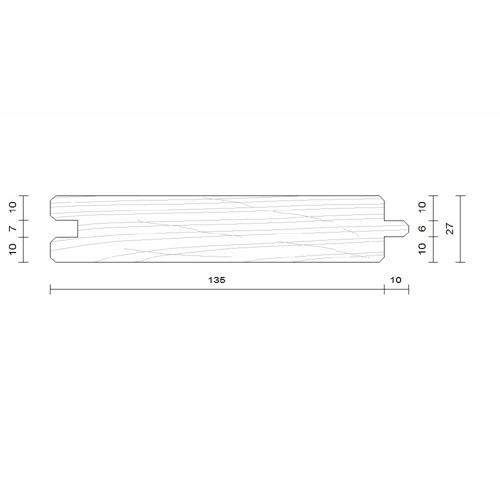 plancher douglas 27x135