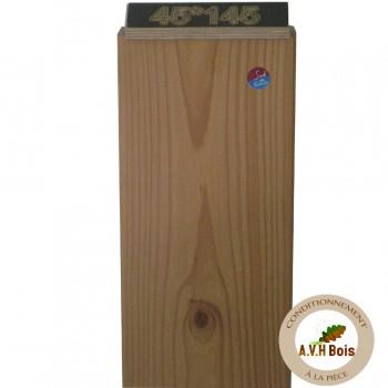 ossature bois naturelle en bois douglas 45x 145 mm