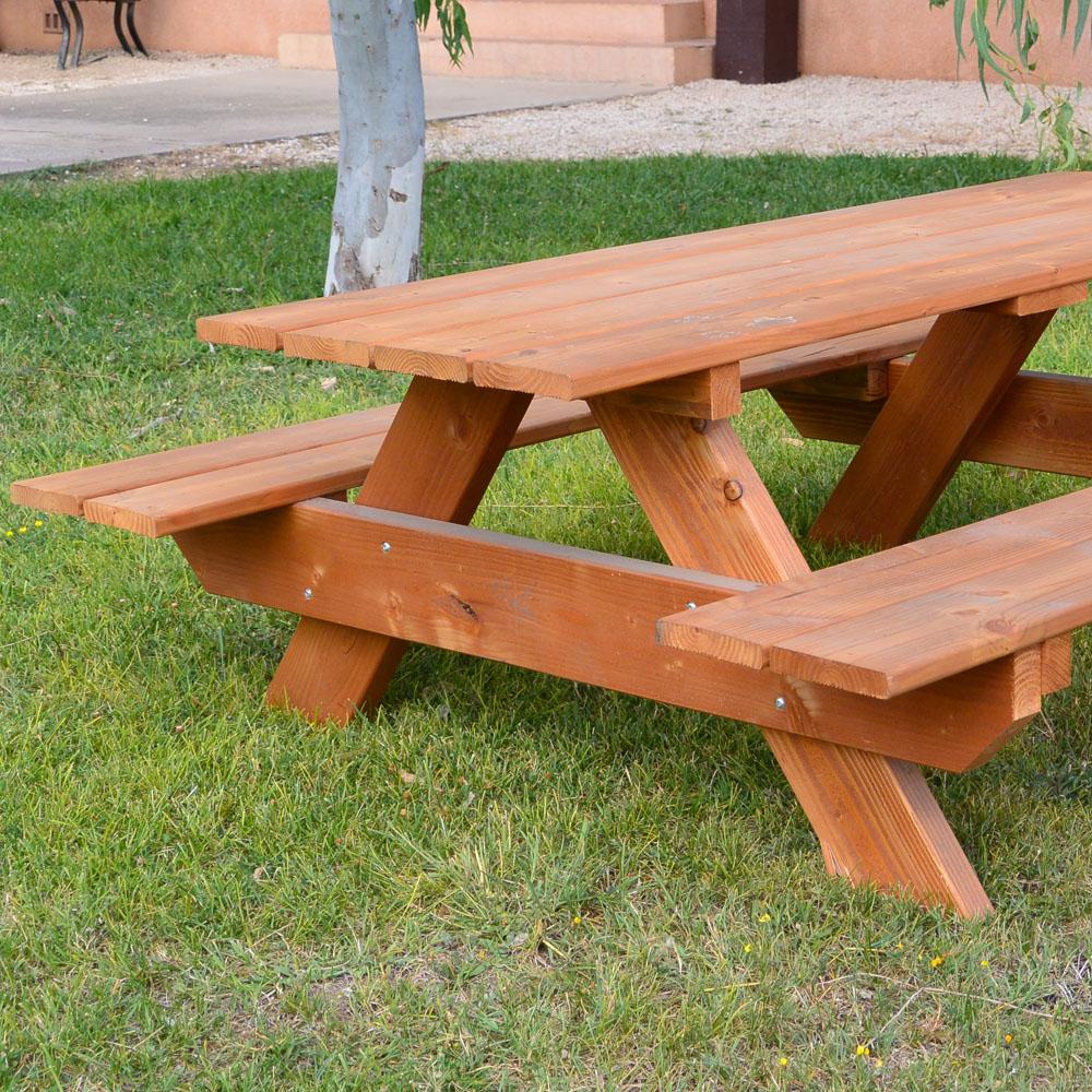 table en bois douglas pour enfant